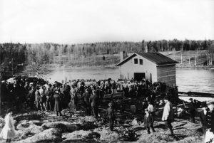 Vapaapalokuntatoiminnan alku Suomessa